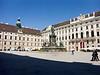 Hofburg courtyard, Vienna, Austria<br /> Konica Minolta Dimage A2