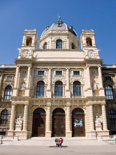 Natural History Museum, main entrance, Vienna, Austria<br /> Konica Minolta Dimage A2