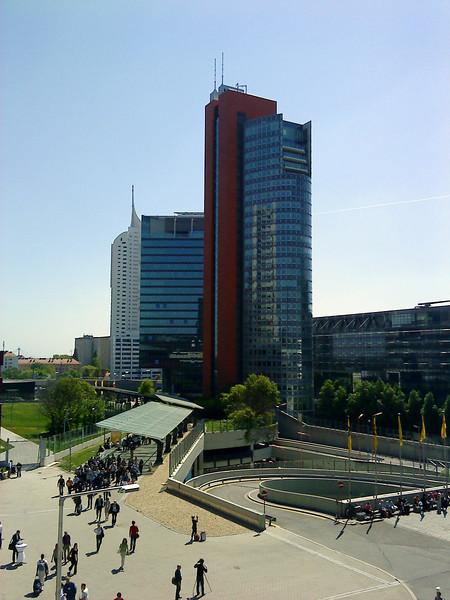 Vienna International Center, VIC, Donaustadt, Vienna<br /> Sony Ericsson W595