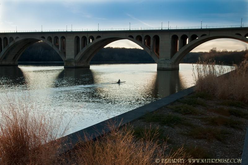 Key Bridge from Georgetown waterfront