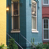 Colorful homes on Capital Hill