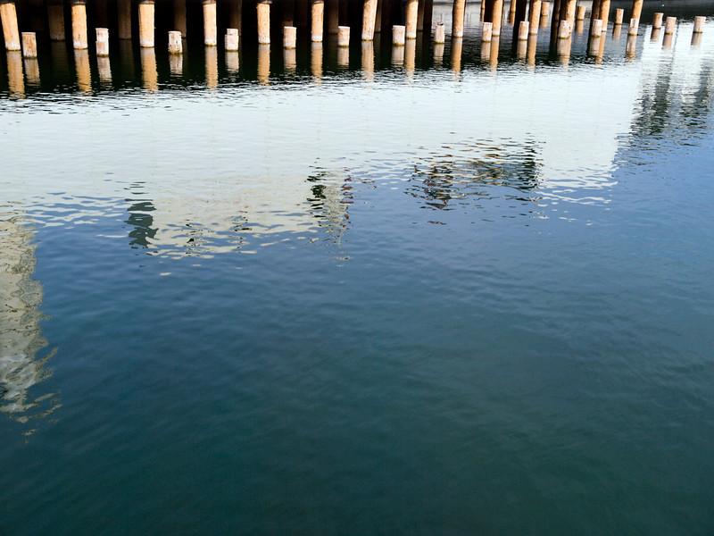 Limmat reflection, Zurich<br /> Olympus E-420 / 12-60mm 2.8-4.0