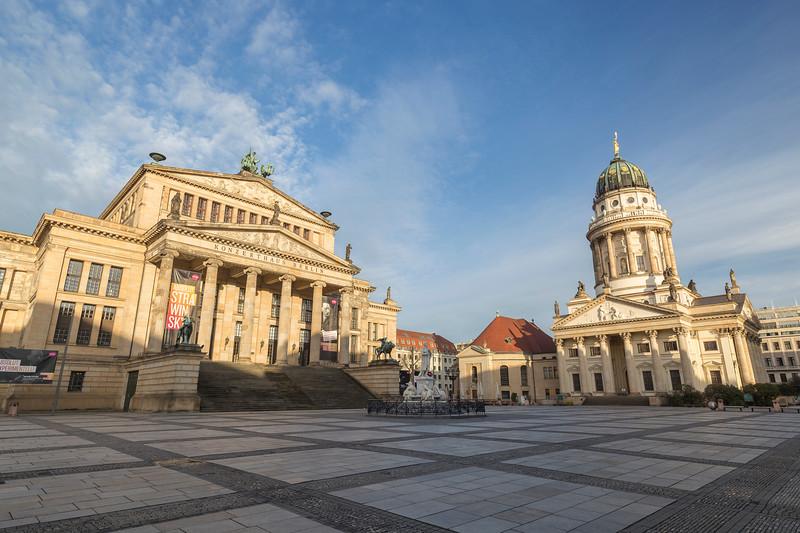 Konzerthaus Berlin and Französischer Dom in Berlin