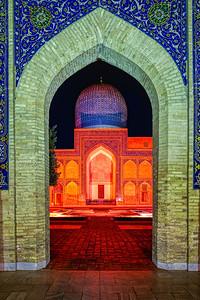 Archway in Samarkand