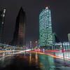 Potsdamer Platz in Berlin at night