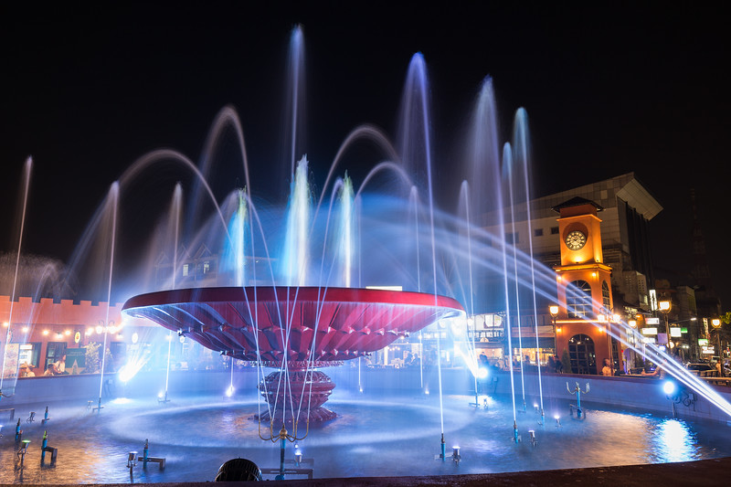 Nam Phou Fountain in Vientiane