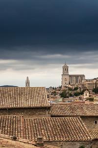 Girona rooftops