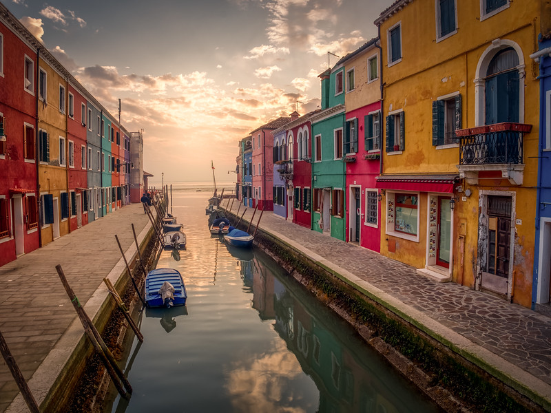 An afternoon in Burano...from back in early January - another time!