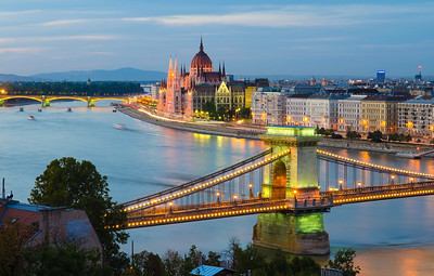 Chain Bridge, Budapest Hungary