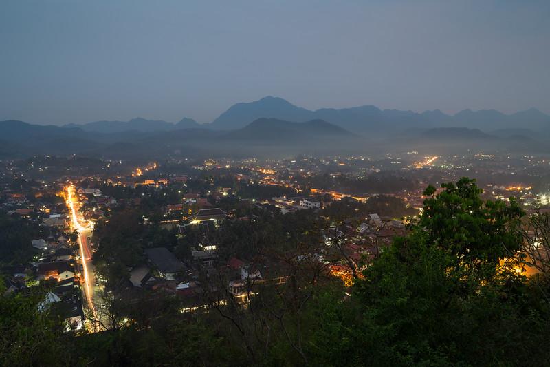 Luang Prabang at dusk