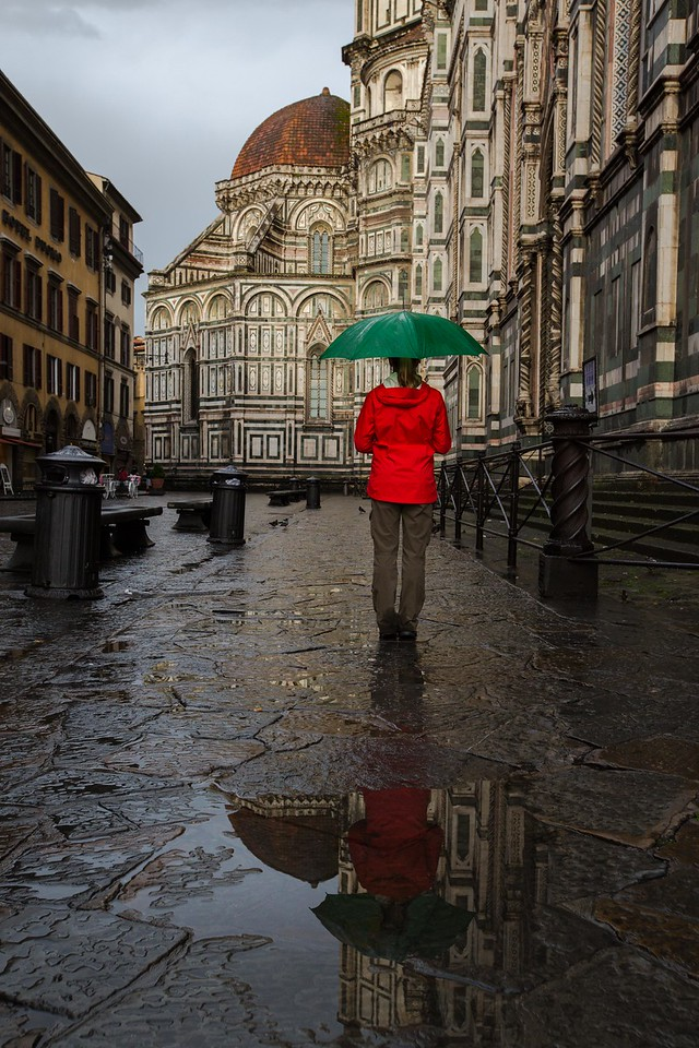 Puddles In Florence