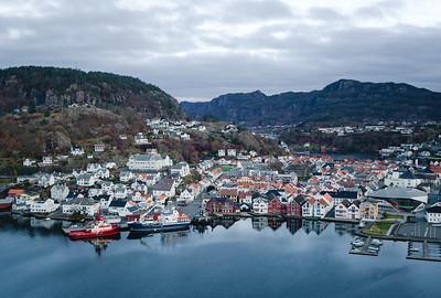 Norwegian city Flekkefjord