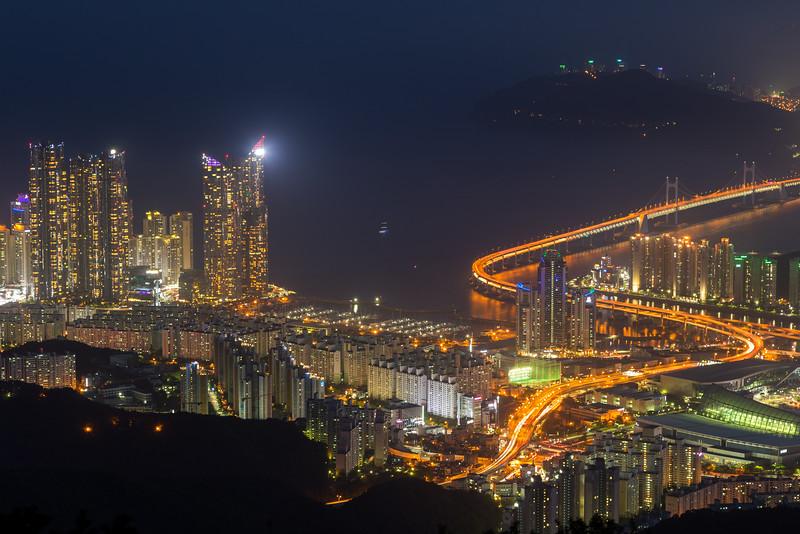 Busan by night