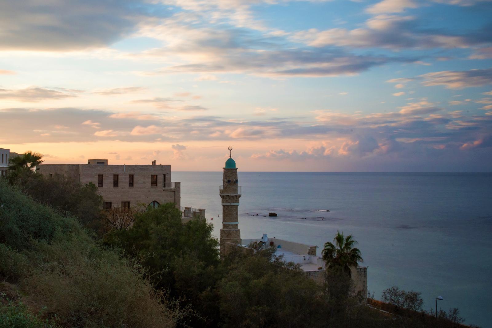 Tel Aviv at Sunset