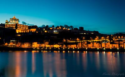 Sunrise over Porto, Portugal