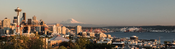 Seattle from Kerry Park at Sunset