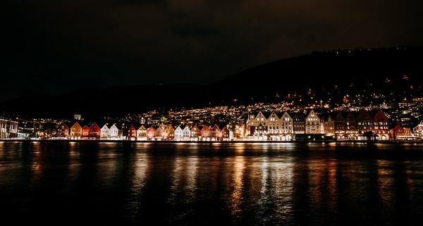 Norwegian City Bergen
