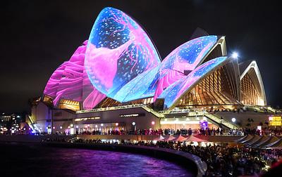 Sydney Opera House, Vivid 2017