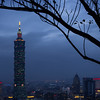 Nightfall in Taipei