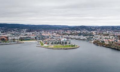 Norwegian city Kristiansand