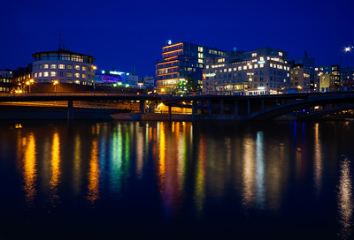 Night lights in Stockholm