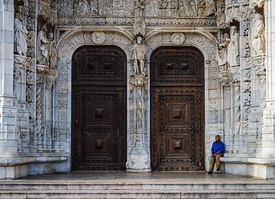 Man, Lisbon