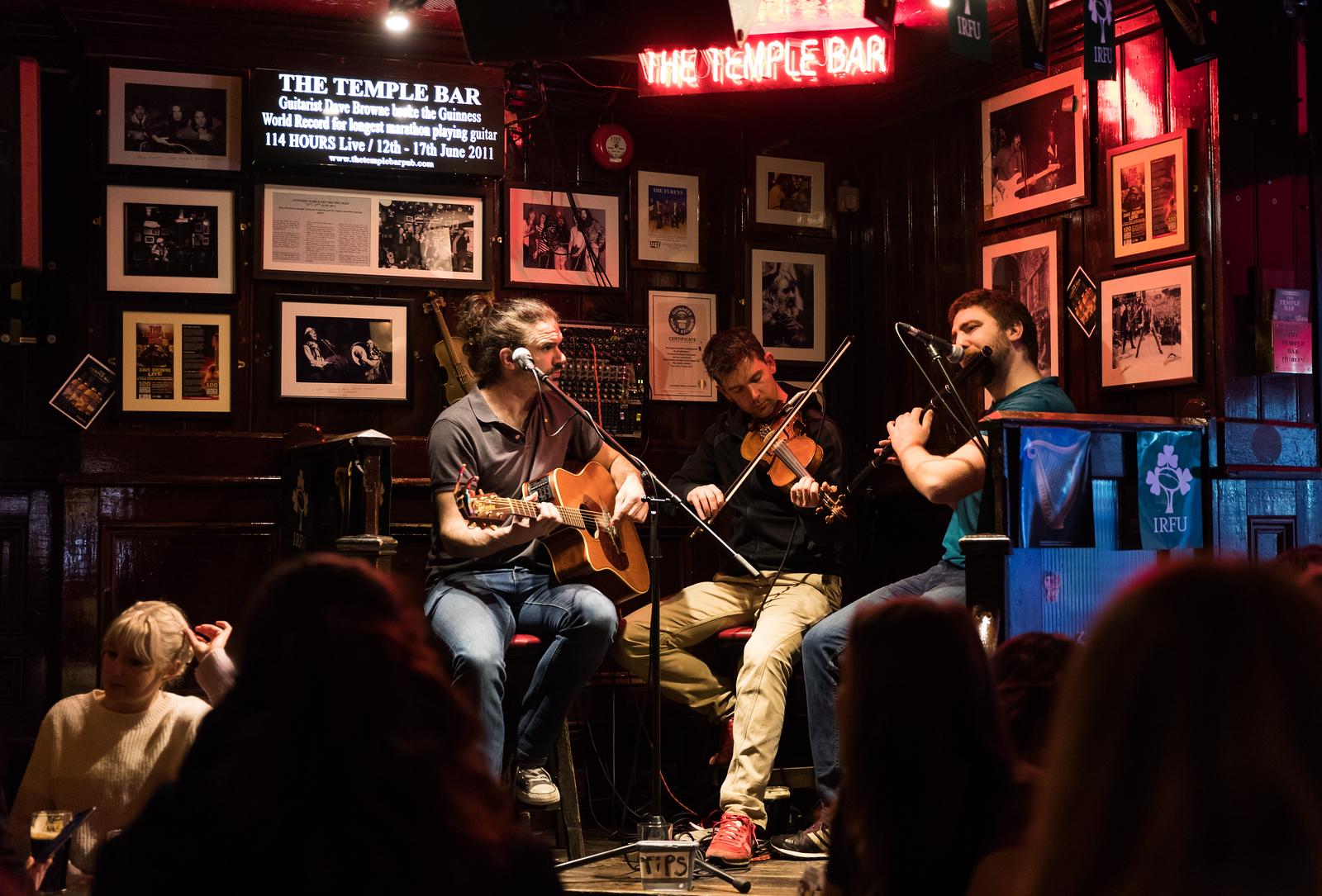Live music @ Temple Bar, Dublin