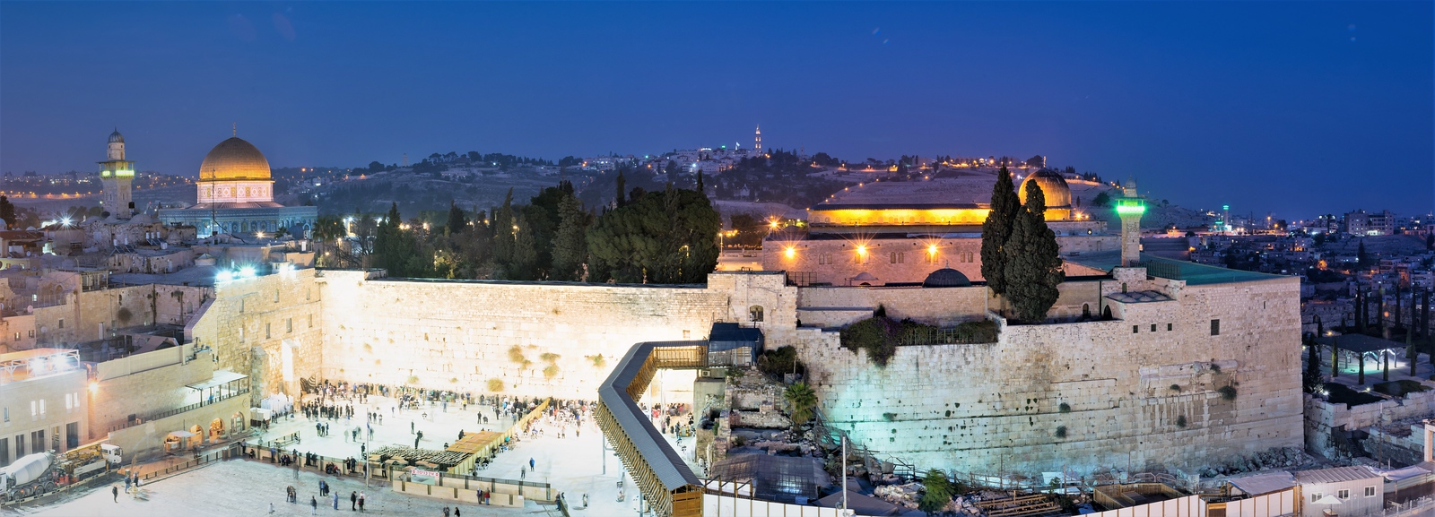 Western Wall and Temple Mounts
