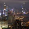 Foggy Hong Kong Island