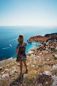 Croatian city Dubrovnik