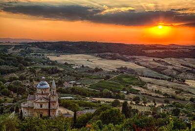 Montepulciano Sunset