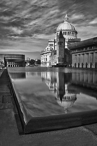 Church of Christian Science, Black and White Boston, MA