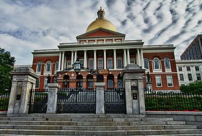 Massachusetts State Capitol Building, Boston MA