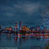 Portland Riverfront Skyline