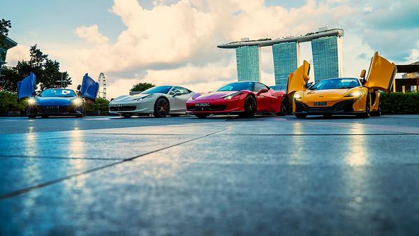 Supercars @ Marina Bay Sands