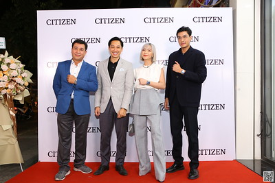 CITIZEN VIETNAM   Year End Party 2020 instant print photo booth @ CITIZEN SHOWROOM D1   Chụp hình in ảnh lấy liền Tất niên 2020 tại TP Hồ Chí Minh   WefieBox Photobooth Vietnam