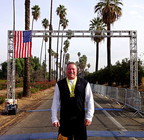 Citrus Heritage 5K Run, Riverside CA January 6, 2018
