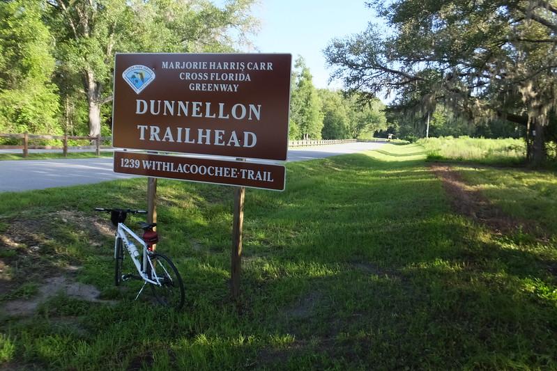 Dunnnellon Trailhead off Rte 39 and Rte 41 intersection.
