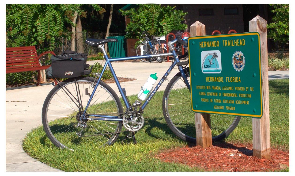REI Novarra touring bike. Circa 1999. Retired in 2017.