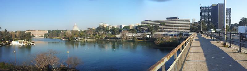 panorama da un ponte della Colombo