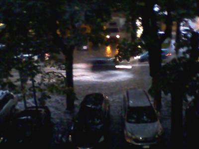 Nubifragio 20/10/2011: viale Europa