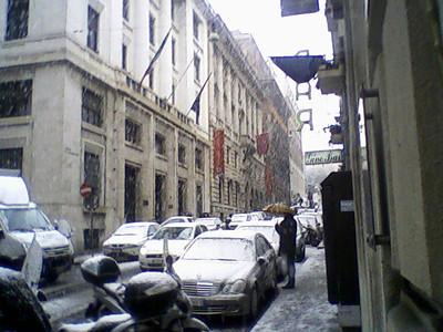 neve 3 febbraio 2012 via Molise ore 13