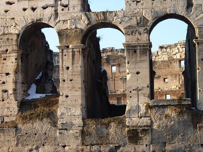 Colosseo: dettaglio