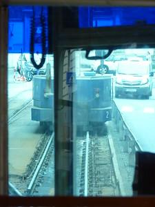 """il """"coso"""" che permette al tram di Opicina di """"trasformarsi"""" in cremagliera"""