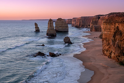 Twelve Apostles during Twilight