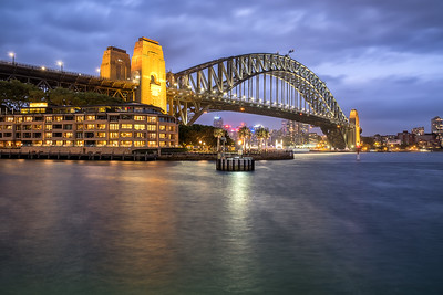 Harbour Bridge at Twilight