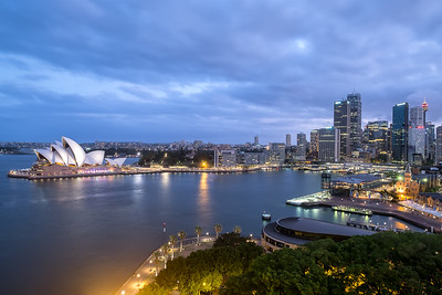 Opera House and Skyline of Sydney