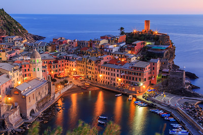 good night Vernazza