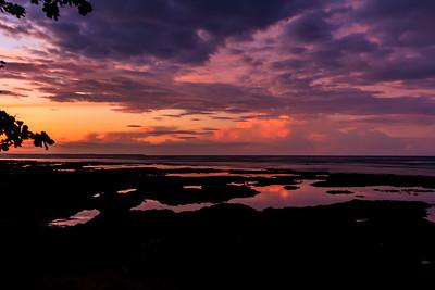 Sunrise in Puerto Viejo