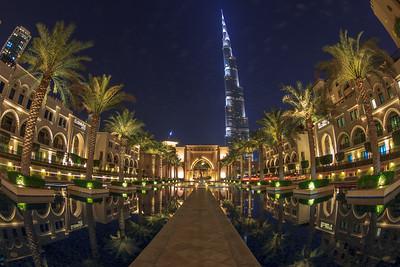 Burj Khalifa and the Palace